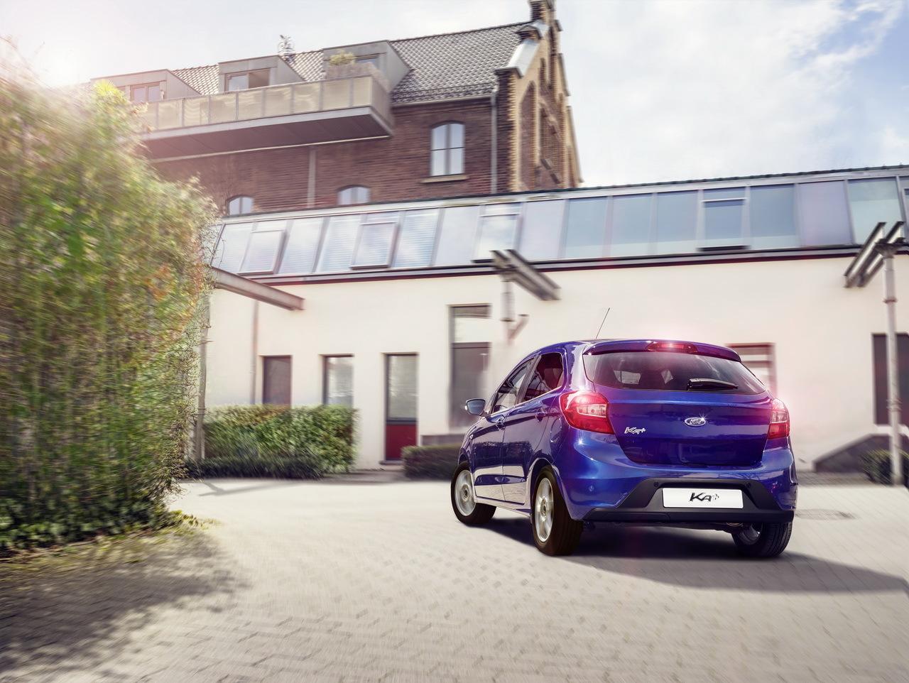 Ford présente sa nouvelle Ford Ka+, ambitieuse et dynamique